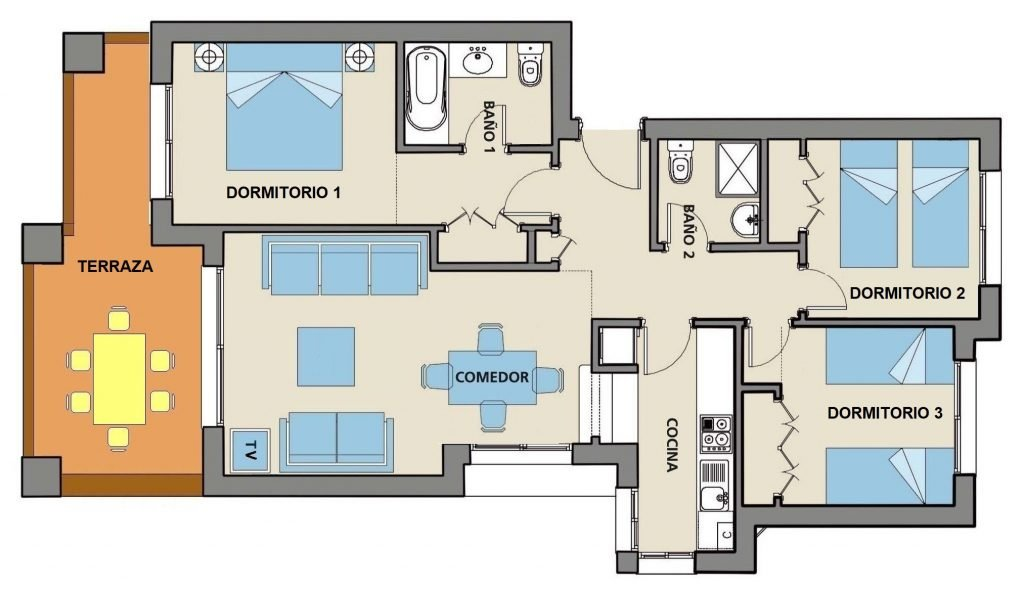 901A Apartment Layout