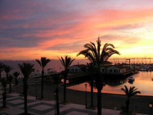Piso Pomsol @ Roda Golf - LA Marina at sunrise