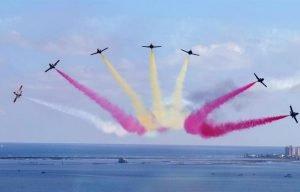 Piso Pomsol @ Roda Golf - Patrulla Aguila over Mar Menor