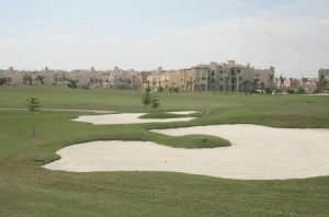 Apartments from the course