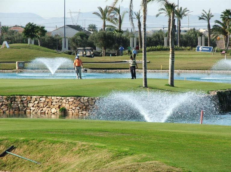 Roda Golf Course 7th Green